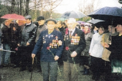 Анатолий ЯковлевичТелков, ветеран ВОВ, 2005