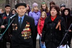 Анатолий ЯковлевичТелков, ветеран ВОВ, 2010
