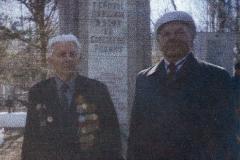 Анатолий Яковлевич Телков, ветеран ВОВ, 2002